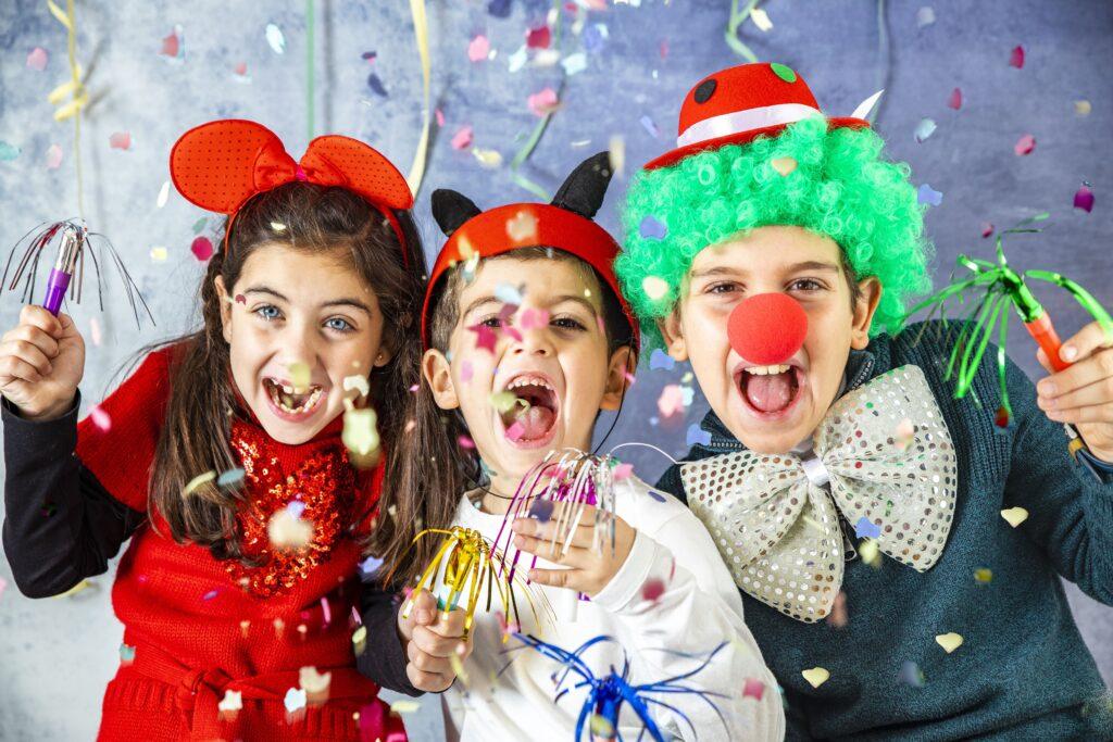Verkleiden für Kinder Karneval