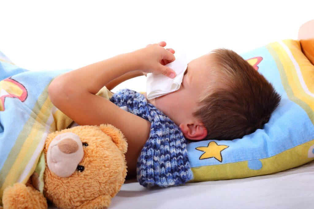 Schnupfen bei Babys